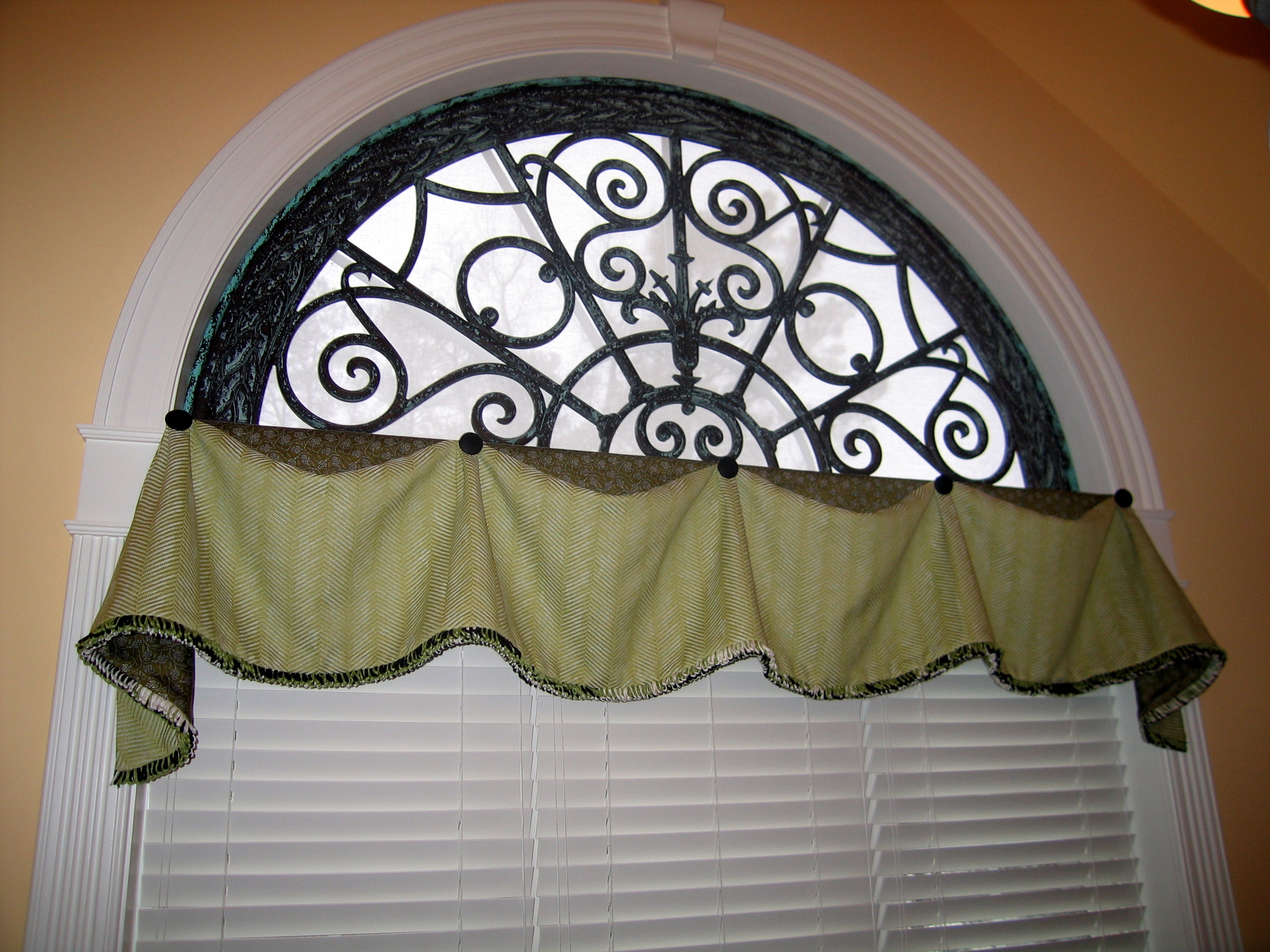 Tableaux Window With Valance Adds Polish