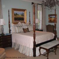 Spa blue bedding