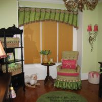 girl's baby room