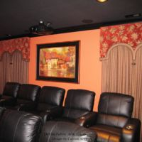 theater room window treatment