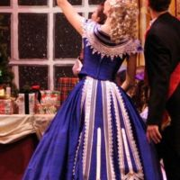 theater ball gown costume