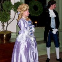 Colonial Ball Gown