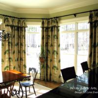 palm tree themed curtains