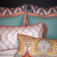Modern pillow fabrics