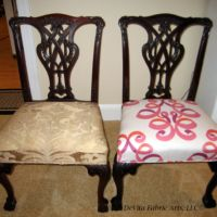 re-upholstery for dining room chair