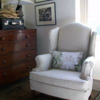 Chair Slipcover in Cotton Duck