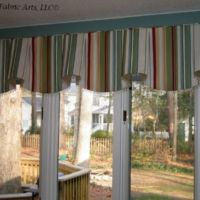 Board mounted window treatment