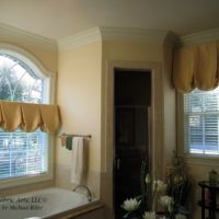 Faux Balloon London Shade Window Treatments