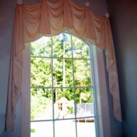 Arched Kingston on Medallion Window Treatment